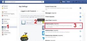 حذف فيروسات الفيس بوك