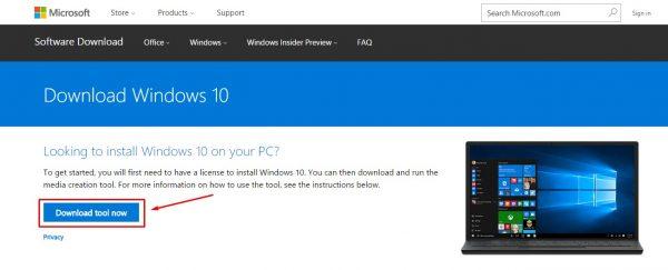 تحميل ويندوز 10 ISO من مايكروسوفت