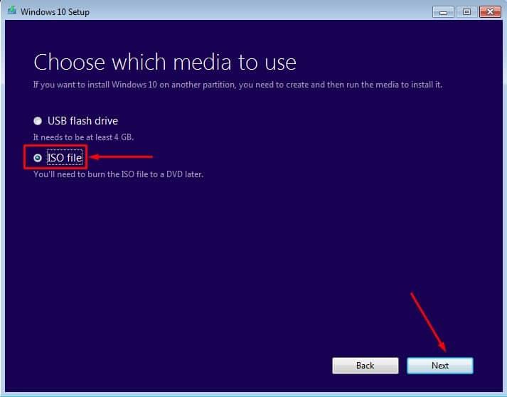 طريقة تحميل ويندوز 10 ISO من مايكروسوفت إصدار 2018