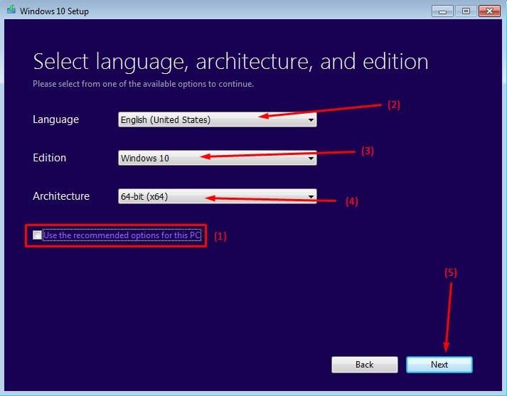 طريقة تحميل ويندوز 10 ISO من مايكروسوفت