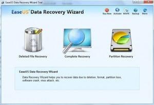 إستعادة الملفات المحذوفة من الكمبيوتر برنامج EaseUS Data Recovery