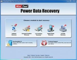 إستعادة الملفات المحذوفة من الكمبيوتر برنامج MiniTool-Power-Data-Recovery