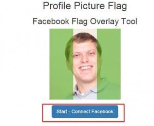 برنامج Profile Picture Flag لوضع علم بلدك على صورتك على الفيسبوك 1