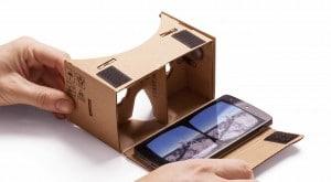 نظارات الواقع الافتراضي نظارات Google Cardboard