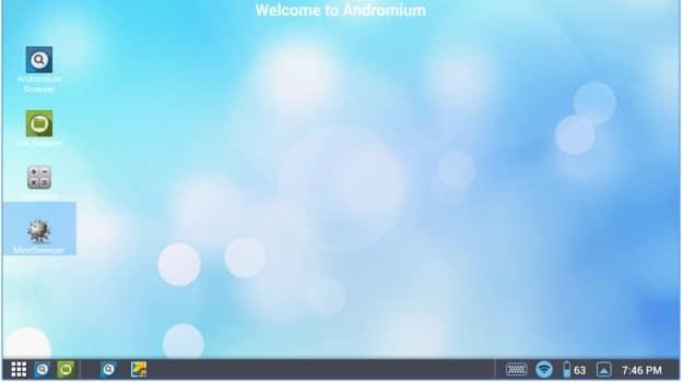 تحميل Andromium للاندرويد