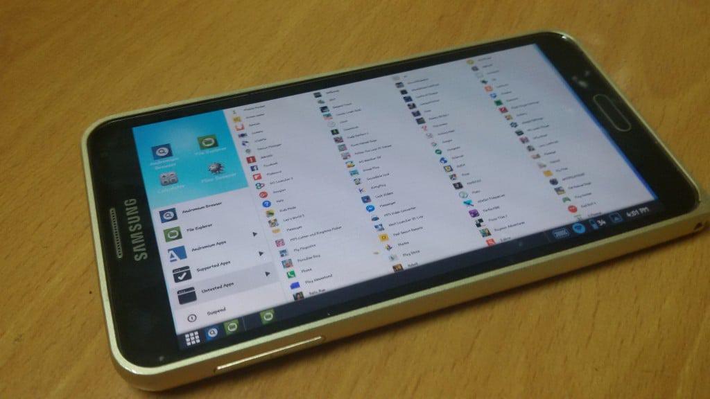 تطبيق Andromium OS لتحويل هاتفك إلي كمبيوتر بضغطة واحدة