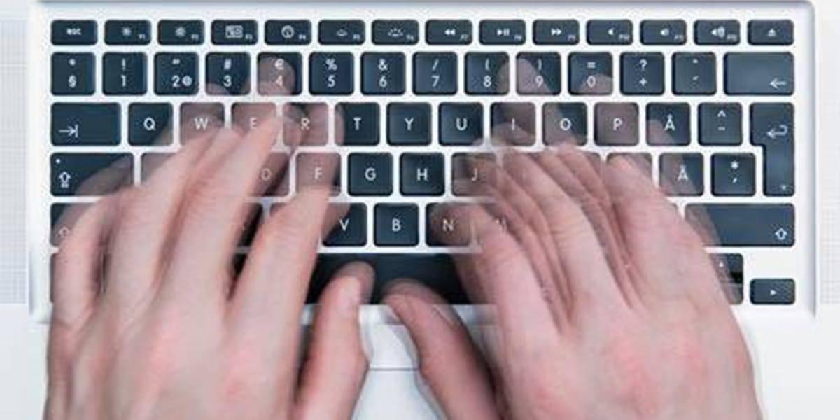 مواقع تساعدك على الكتابة على الكيبورد
