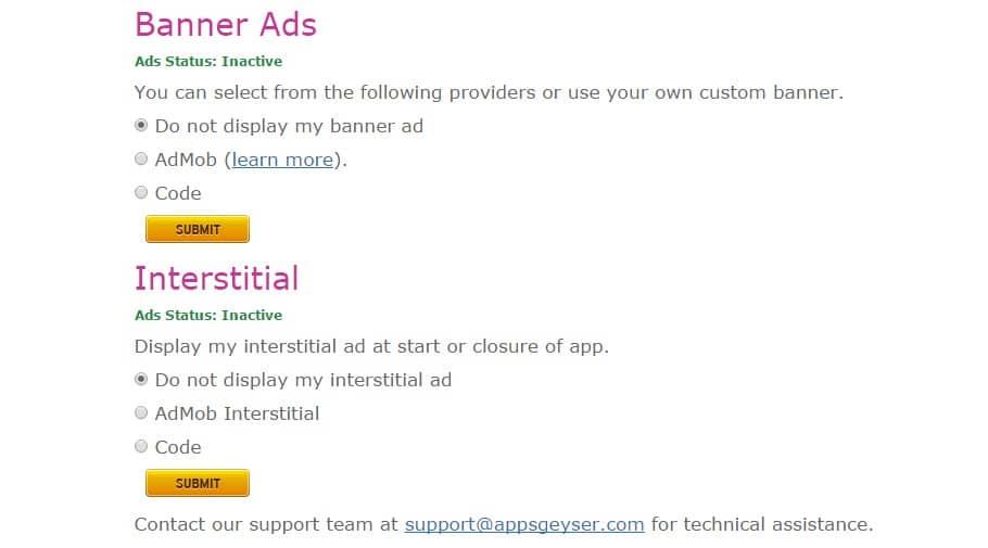 الربح من إنشاء تطبيق اندرويد
