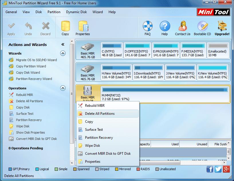 تعرف علي هذا البرنامج الرائع الذي يقوم بحل جميع مشاكل مفاتيح ال USB وبطاقات الذاكرة الخارجية 5