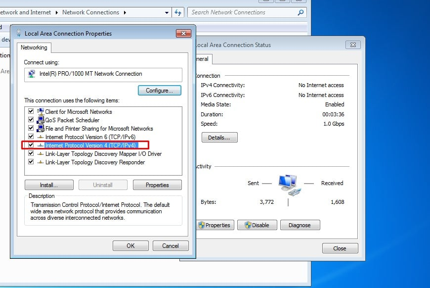 حجب المواقع الإباحية عن كمبيوتر Windows 7
