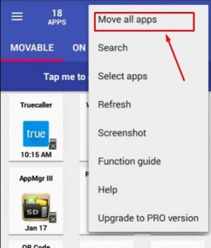 برنامج AppMgr III