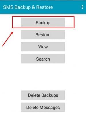 برنامج SMS Backup & Restore