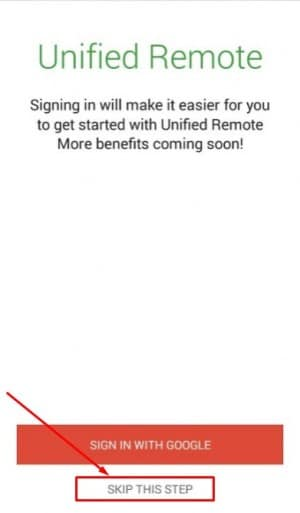 برنامج Unified Remote
