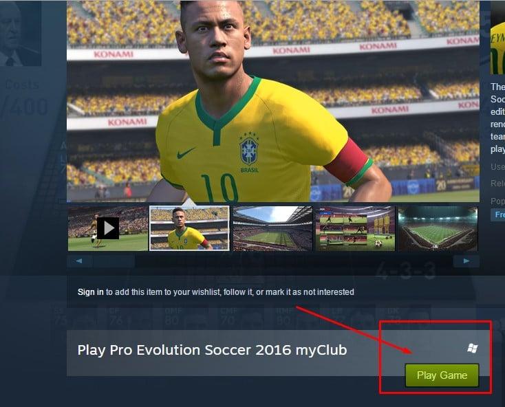 تحميل Pes 2016 مجاناً من الموقع الرسمي للعبة 1