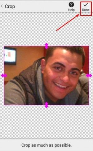 برنامج Background Eraser لمسح خلفية الصور للاندرويد 4
