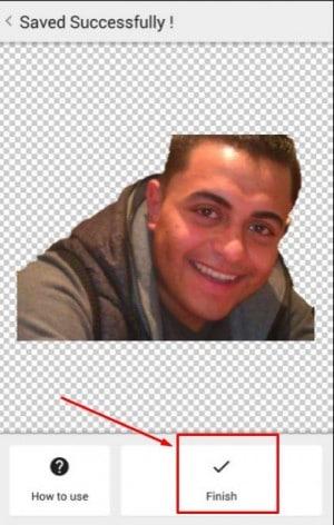 برنامج Background Eraser لمسح خلفية الصور للاندرويد 6