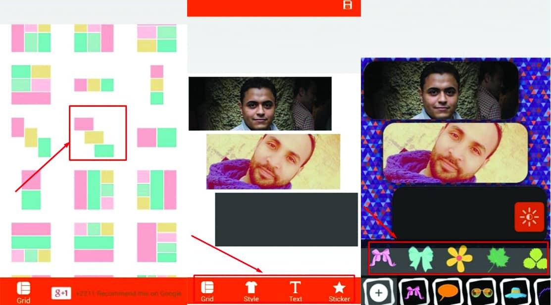 تطبيق لدمج الصور علي الاندرويد