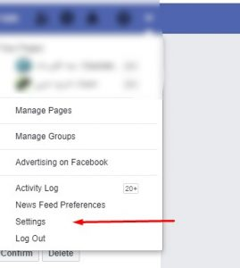 إيقاف facebook موقتا