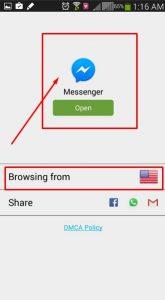 تخطي حظر المكالمات بتطبيق الماسنجر من خلال تطبيق Hola 3