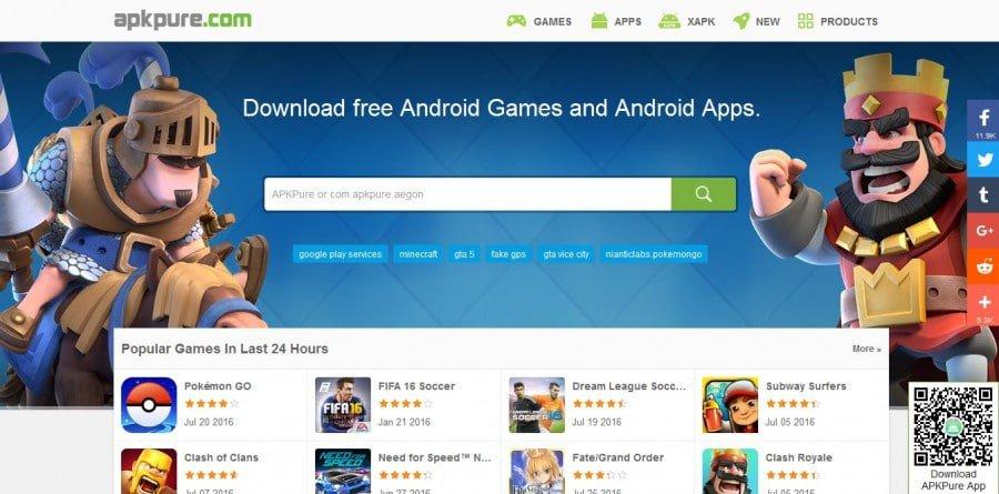 أفضل موقع لتحميل ألعاب وتطبيقات الاندرويد بصيغة APK