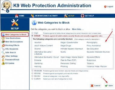 تحميل برنامج K9 Web Protection 11