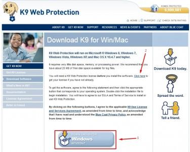 K9 Web Protection برنامج حجب المواقع الغير مرغوب فيها 1