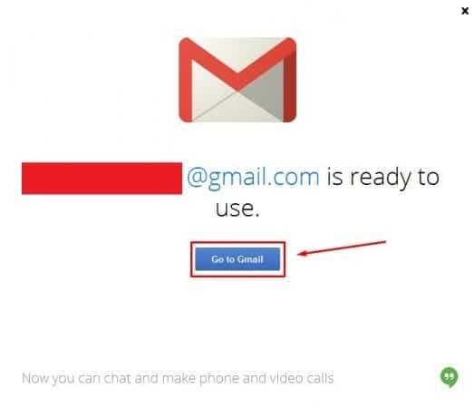 إنشاء حساب جيميل Gmail جديد من الكمبيوتر 6