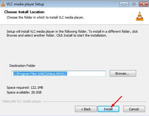 شرح تثبيت برنامج VLC مشغل الفيديو الرائع
