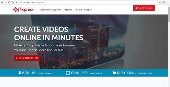 موقع لعمل مقدمة لفيديوهاتك مجاناً