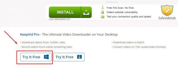 تحميل الفيديوهات من الإنترنت بدون برامج