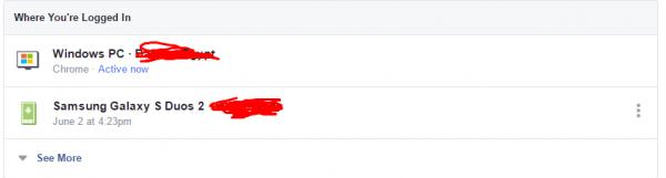 طريقة تأمين حساب فيس بوك