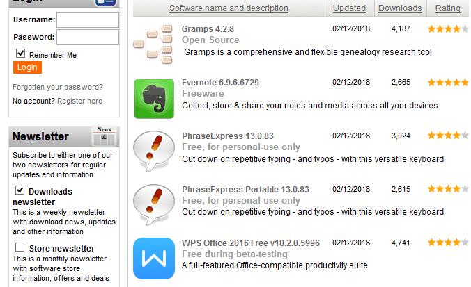تحميل برامج الكمبيوتر 2018
