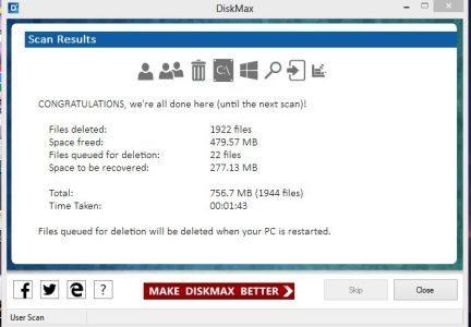 برنامج تسريع الجهاز الجديد DiskMax سيجعل جهازك أسرع 80% 5