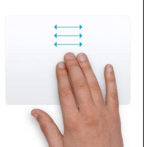 كيفية استخدام التاتش باد Touch pad