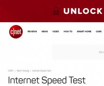 اختبار سرعة النت 2018