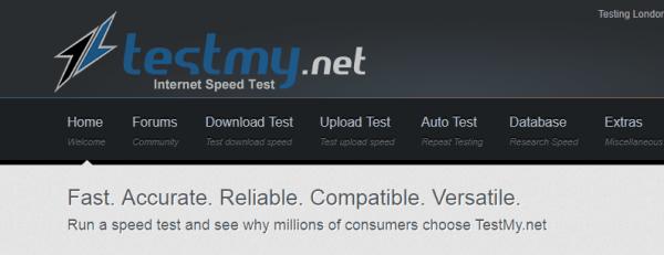 موقع اختبار سرعة النت