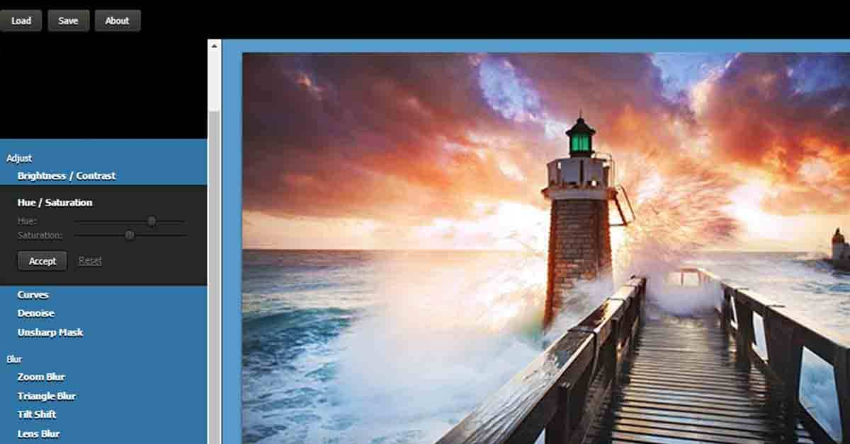 موقع pixfiltre للتعديل علي الصور أون لاين