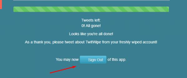 حذف جميع التغريدات بسهولة