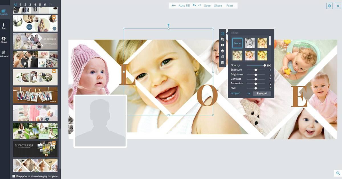 دمج الصور اون لاين في صورة واحدة بدون برامج - شرح كامل بالصور