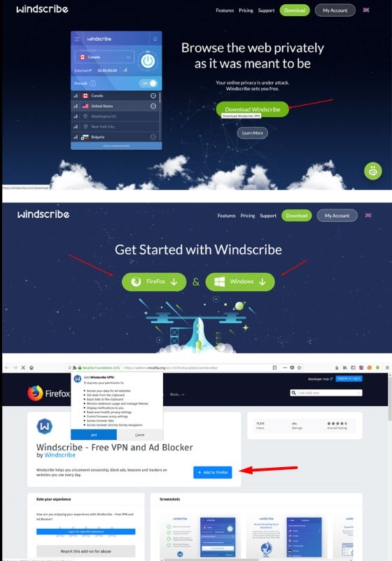 VPN مجاني للكمبيوتر