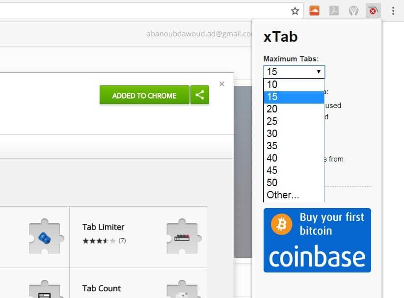 إضافة xTab التخلص من إعلانات النوافذ المنبثقة لجوجل كروم