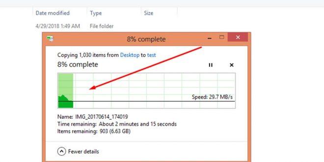 طريقة تسريع نسخ الملفات من وإلي مفاتيح ال USB بشكل رائع وبدون أي برامج