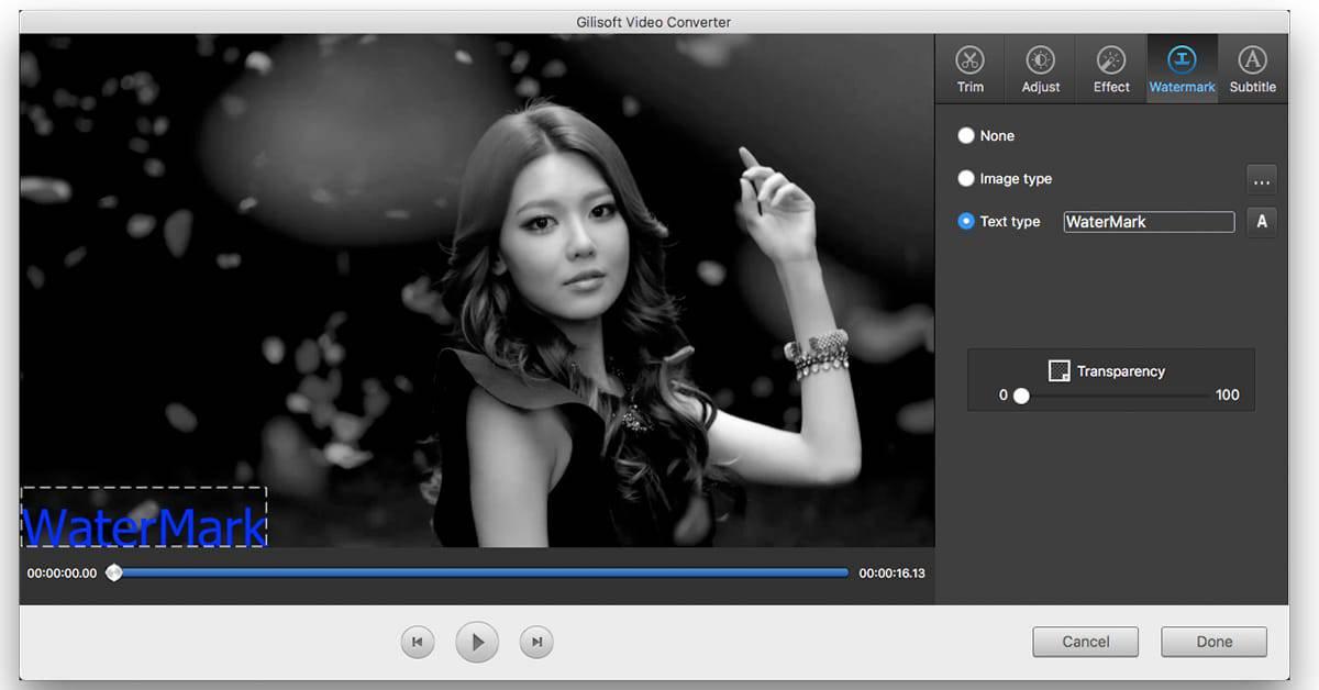 برنامج Gilisoft Free Video Player لوضع كلمة سر علي الفيديوهات