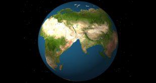 تعرف علي مكان منزلك على بانجيا قبل 200 مليون عام أي قبل بداية الأرض