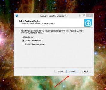 أخر إصدار من برنامج استعادة الملفات المفقودة للآيفون والآيباد