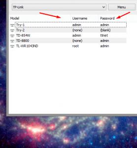 تحميل برنامج Router Default Password