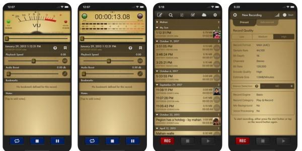 تطبيقات تسجيل الصوت للايفون مجاناً