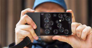 تعرف علي مواصفات هاتف Light L16 الذي سياتي بتسعة كاميرات بخلفية الهاتف