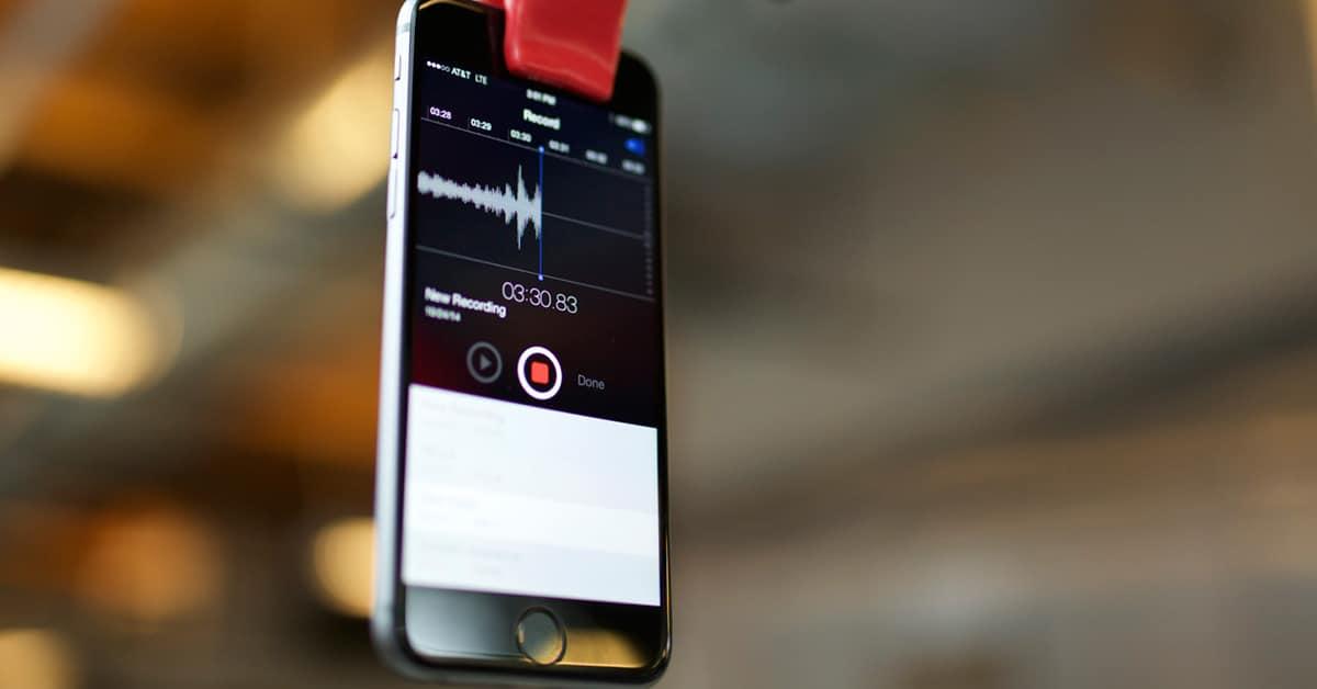 شرح وتحميل تطبيقات تسجيل الصوت للايفون والآيباد المجانية