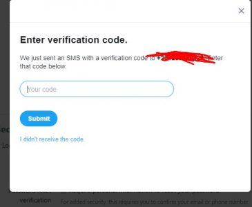 تأمين حساب تويتر بسهولة